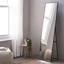 Chiltern Free-Standing Floor Mirror, Black, One
