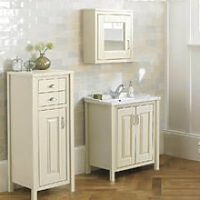 CHILTERN Ivory 600mm Traditional Freestanding