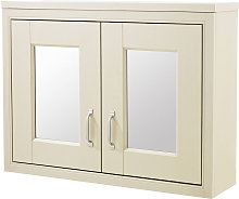 CHILTERN Ivory Traditional 690mm 2 Door Mirror