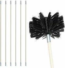 Chimney Cleaning Brush Kit, Sweep Sweeping Brush