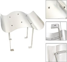 Chimney Cowl Stainless Steel Silver - Silver