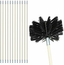 Chimney Kit Sweeping Drain Set, Pipeline Flue