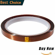 CHINAJIAODAI Double-Sided Tape 2 Rolls Polyimide