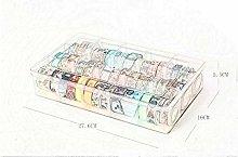 CHINAJIAODAI Masking Tape 1 pcs 15 Compartments