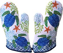 Chinashow Set of 2 Oven Mitts Heat Resistant