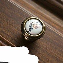 Chinese Ceramic Handle American Retro Cabinet Door