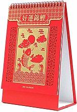 Chinese Desk Calendar 2021 Flip 2021 Planner