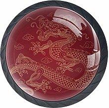 Chinese Dragon Cabinet Door Knobs Handles Pulls