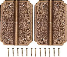 Chinese Hinge, Pure Copper Cabinet Accessories for