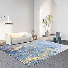 Chinese Ink Style Carpet Rectangular Non-Slip