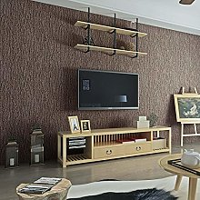 Chinese Retro 3D Simulation Bark Wallpaper Living