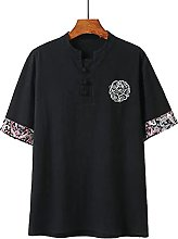 Chinese Style Large Size M-9XL Men's Summer