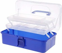 chiwanji Multi Purpose Plastic Art Supply Tool Box