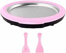 chlius Instant Ice Cream Maker Pan With Ice Cream