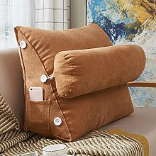 CHLXI Triangular Wedge Pillow Reading Pillow Sofa