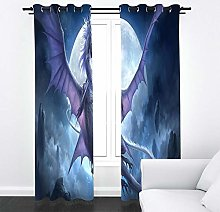CHNXXL Blackout Curtains Eyelet Thermal Insulated