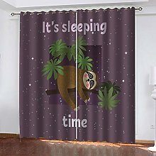 CHNXXL Printed Blackout Curtains For Children