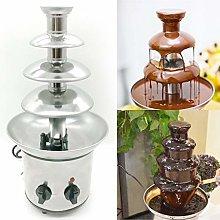 Chocolate Fountain, Chocolate Fondue Set 4 Tier