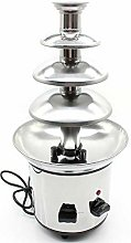 Chocolate Fountain with 4 Levels, Stainless Steel