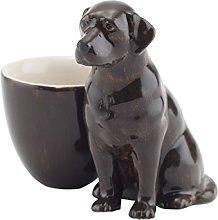 Chocolate Labrador Ceramic Egg Cup