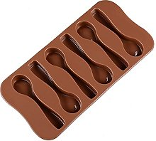 Chocolate Mold Silicone Spoon Baking Mold