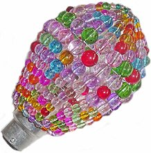 Choice of 6 Colours Lampshade Crystal Chandelier