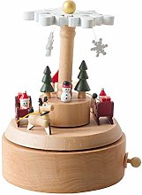 Chonor Innovation Scenario Wooden Musical Box,