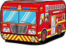 chora Kids Pop Up Play Tent,Fire Engine Tent,