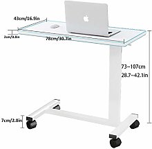 CHOUE Steel Pipe Laptop Stand Adjustable with