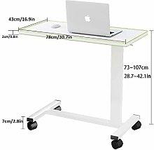 CHOUE Steel Pipe School Desk with White Density