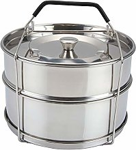 Chowcencen Stainless Steel Two Tier Stack-able