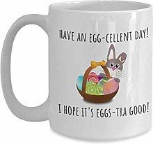 Christian Easter Coffee Mug Have an Egg Cellent