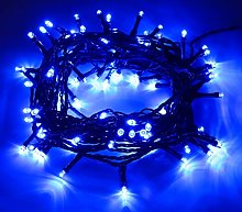 Christmas Concepts® 100 Blue LED Chasing Lights