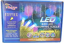 Christmas Concepts® 600 Blue LED Snowing Icicle