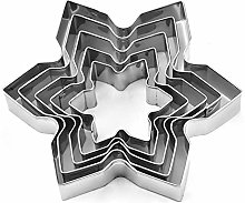Christmas Cookie Cutter Tools Stainless Steel