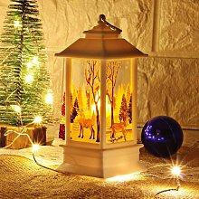 Christmas Creative Decorative Lanterns Snowman