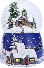Christmas Crystal Ball - Christmas Box, Snow House