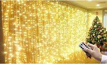 Christmas Curtain Lights: 3m x 3m/One