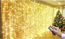 Christmas Curtain Lights: 3m x 3m/Two