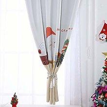 Christmas Curtain Tulle Window Treatment Voile
