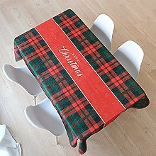 Christmas Cute Series Table Cloth Thickened