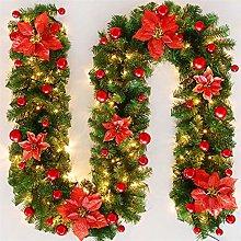 Christmas Decoration Garland Rattan,Fir Garland