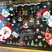 Christmas Decoration Glass Stickers Small
