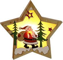 Christmas Decoration Wooden Lighting Pendant