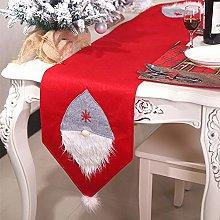Christmas Embroidered Table Runner Christmas Table