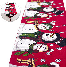 Christmas Embroidered Table Runner for Christmas