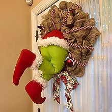 Christmas Front Door Decorations - Christmas Thief