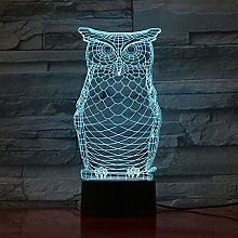 Christmas Gift 3D Night Light 7 Color Remote