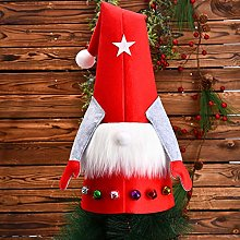 Christmas Gnome Tree Topper Decorations Plush