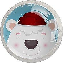 Christmas Holiday Bear (Set of 4) 1.18 Inch